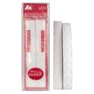【奇奇文具】A+A D-AA02 自粘型黏扣帶(長型) (白色/黑色/紅色/黃色/藍色/綠色)6色任選 台灣製造