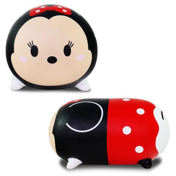 正版【Tsum Tsum迪士尼跳跳米妮】玩具 Minnie 居家擺飾坐凳 抱枕靠墊椅凳 聖誕禮物