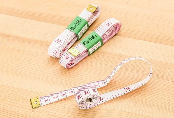 [協貿國際]  可愛量衣尺測量衣服三圍迷你小尺 (30個價)