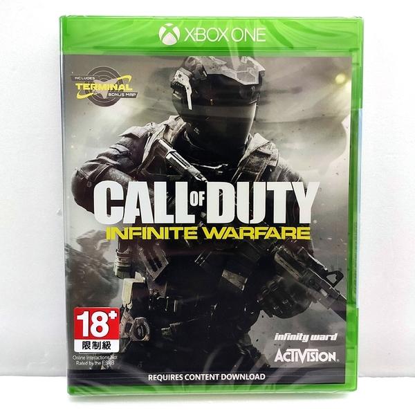XBOX ONE 決勝時刻 無盡戰爭 實體中文版 全新收藏 Call of Duty 13 COD13