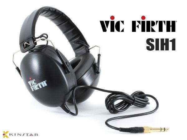 【金聲樂器】全新 Vic Firth SIH1 立體聲 隔音 耳罩式耳機