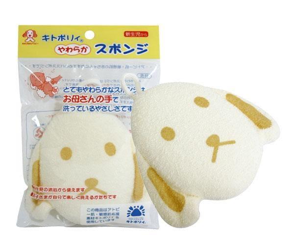 寶貝屋 敏感肌膚洗澡海棉 小兔 / 小狗