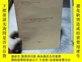 二手書博民逛書店LATE罕見CAMBRIAN AND EARLY ORDOVIC