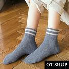 [現貨] [多件優惠] 羊毛針織 襪子 長筒襪 中筒襪 麻花紋 文青 復古配色 全棉質 M1011