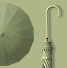 遮陽傘 女晴雨兩用加大號加固加厚長柄黑膠森系s太陽傘遮陽TW【快速出貨八折鉅惠】
