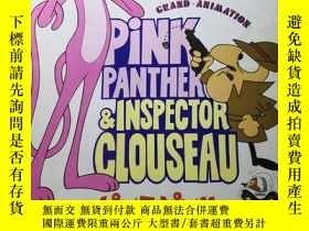 二手書博民逛書店日版罕見PINK PANTHER& INSPECTOR CLOUSEAU 粉紅豹&克魯索探長  ドラゴン水滸伝 動