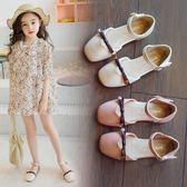 618好康鉅惠女童包頭涼鞋兒童時尚小公主鞋女孩軟底鞋