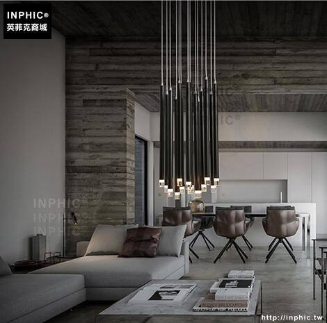 INPHIC- 北歐現代簡約創意餐廳餐桌吧台吊燈長筒形圓柱組合個性燈飾_S197C