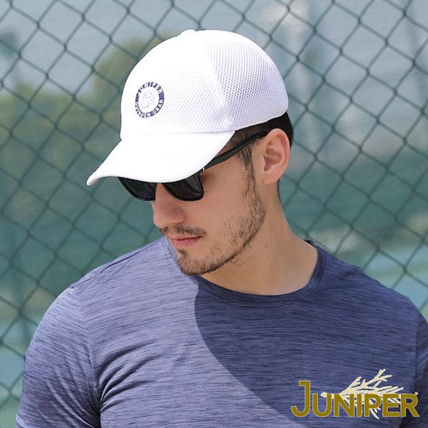 運動球帽-抗UV透氣清涼超大頭圍尺寸運動網帽J7540A JUNIPER
