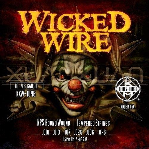 ☆ 唐尼樂器︵☆ Kerly Wicked Wire 系列小丑弦/冰火弦 KXW-1046 (10-46)美製電吉他弦