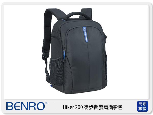 【分期0利率,免運費】BENRO 百諾 HIKER 200 徒步者 後背 雙肩 相機包 攝影包 (公司貨)
