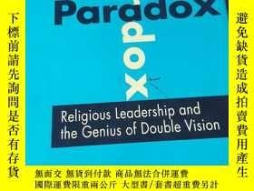 二手書博民逛書店living罕見with paradox:religious l