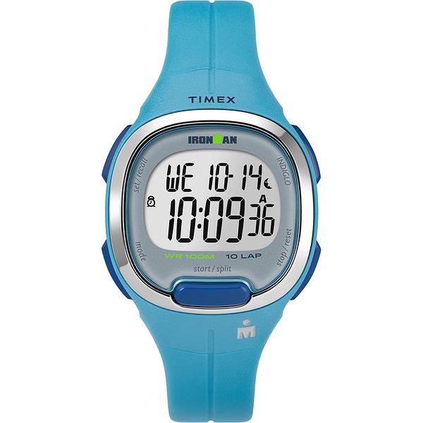 【TIMEX】 天美時 鐵人系列 專業運動電子錶 (藍 TXTW5M19500)