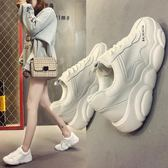 運動鞋 老爹鞋女鞋春季情侶潮小白鞋超火跑步網紅運動鞋【韓國時尚週】