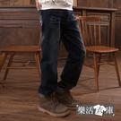 【2017】刺繡山水刷色伸縮中直筒牛仔褲● 樂活衣庫