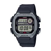 CASIO手錶專賣店 卡西歐 DW-291H-1A 男錶 電子錶 運動風格 防水200米 礦物玻璃 LED燈光 橡膠錶帶