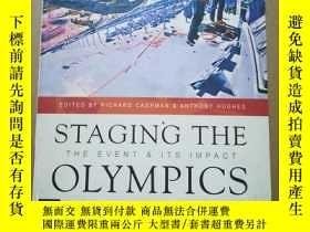 二手書博民逛書店STAGING罕見THE OLYMPICSY78301 出版19