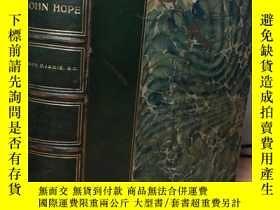二手書博民逛書店JOHN罕見HOPE PHILANTHROPIST AND RE