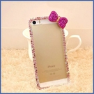 蘋果 iPhone12 iPhone11 12mini 12Pro Max SE2 XS IX XR i8+ i7 i6 小蝴蝶結邊鑽 手機殼 水鑽殼 訂製