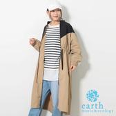 ❖ Hot item ❖  雙色長版收腰風衣外套 - earth music&ecology