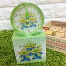 日本正品 迪士尼鬧鐘 玩具總動員 三眼怪 時鐘 桌鐘 桌上型鬧鐘 小鬧鐘 COCOS TG285