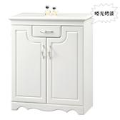 【水晶晶 傢俱 】CX9828 1 理查2 8 3 3 呎白色烤漆單抽雙門鞋櫃