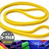 乳膠大環狀阻力繩6.5MM(15磅)彈力帶彼拉提斯帶.瑜珈圈復健輔助健身器材推薦哪裡買TRX-1