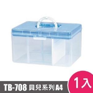 樹德SHUTER FUN貝兒手提箱(A4)TB-708 1入 桃紅
