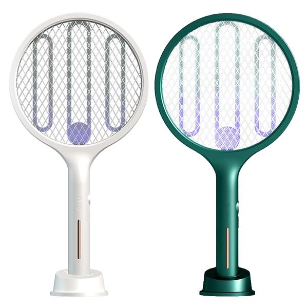 【3期零利率】全新EMS-04 觸控式充電電蚊拍/滅蚊燈 三層電網 燈誘蚊 分離式底座 雙重開關觸控感應