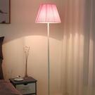 落地燈 落地燈客廳臥室護眼led床頭燈 INS網紅溫馨簡約現代立式學習台燈
