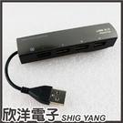 長笛魔鏡 4埠USB2.0集線器Hub (F-FF099)