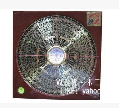 純銅風水羅盤 盤面裝有水平儀 精裝羅盤