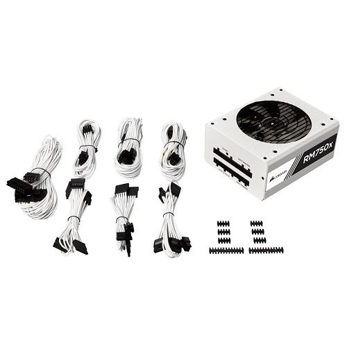 海盜船 CORSAIR RM750x(白殼) 電源供應器