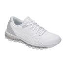 樂買網 ASICS 18FW 頂級緩衝 編織 女慢跑鞋 QUANTUM 360 KNIT 2 T890N-100 贈腿套
