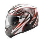 【東門城】ZEUS ZS3300 GG27(白紅) 可掀式安全帽 雙鏡片
