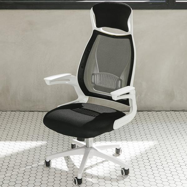 【IDEA】包覆性一體成型電腦椅 工學椅 辦公椅 會議椅 工作椅 書桌椅 事務椅【ID-017】