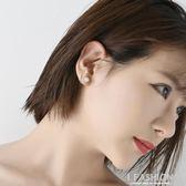 925純銀毛線耳釘女日迷你小耳骨釘簡約個性森繫短款耳環 Ifashion