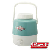 【美國Coleman】4.9L經典飲料筒『綠松石』CM-27865 保冷桶