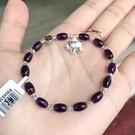 『晶鑽水晶』天然特級紫水晶 純銀手鍊 約...