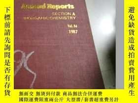 二手書博民逛書店Annual罕見Reports(年度報告)Vol.84 1987