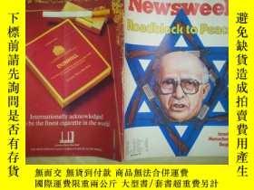 二手書博民逛書店Z7罕見NEWSWEEK(1981.9.14)Act of in