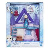 Disney 迪士尼 冰雪奇緣 迷你公主雙層屋遊戲組 Elsa 艾沙公主 孩之寶城堡系列 TOYeGO 玩具e哥