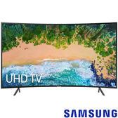 《送壁掛架安裝&OVO B5電視盒》Samsung三星 55吋4K UHD曲面聯網液晶電視 55NU7300(UA55NU7300W)