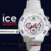 ICE Watch x BMW系列F1賽車聯名計時限量腕錶-白/53mm BM.CH.WE.BB.S.13公司貨/禮物