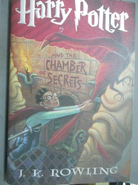 【書寶二手書T5/一般小說_PIU】Harry Potter and the Chamber of Secrets_J.