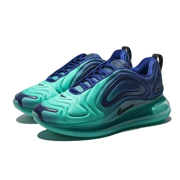 NIKE WMNS AIR MAX 720 藍綠 漸層 大氣墊 慢跑鞋 男女(布魯克林) AR9293-400 AO2924-400