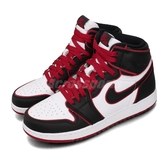 Nike Air Jordan 1 Retro High OG GS Bloodline 黑 紅 女鞋 大童鞋 紅外線 籃球鞋 【PUMP306】 575441-062