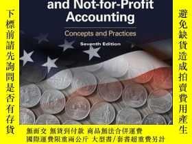二手書博民逛書店Government罕見and Not-for-Profit Accounting: Concepts and P