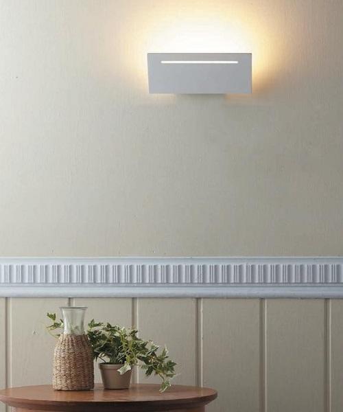 燈飾燈具【燈王的店】LED 7W方型壁燈附光源(LED26005) (限裝潢板用)