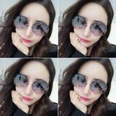 2020新款墨鏡女ins 韓版潮圓臉防紫外線網紅GM太陽鏡明星街拍眼鏡 店慶降價